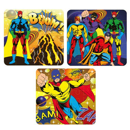 Superhero Jigsaw Puzzle - Assorted Designs - Each