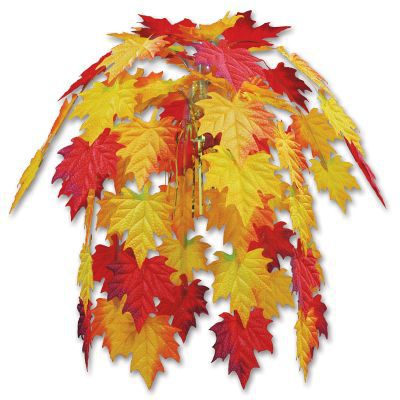 Fabric Autumn Leaves Cascade - 61cm