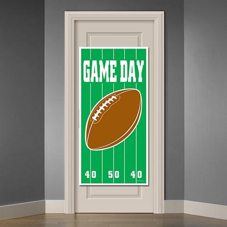 American Football Game Day Door Cover - 1.52m