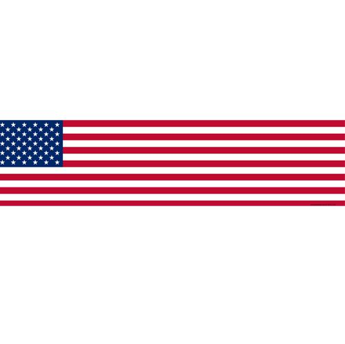 American Themed Flag Banner - 1.2m