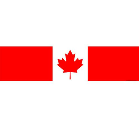 Canadian Themed Flag Banner - 120 x 30cm