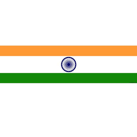 Click to view product details and reviews for Indian Themed Flag Banner 120 X 30cm.