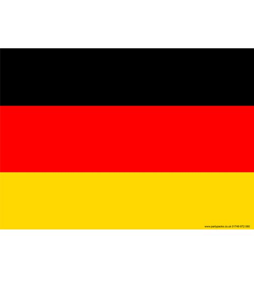 German Themed Flag Poster - A3