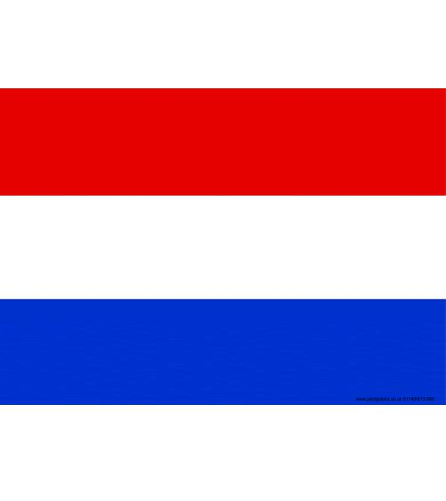 Holland Themed Flag Poster - A3