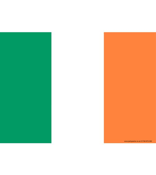 Ireland Themed Flag Poster - A3