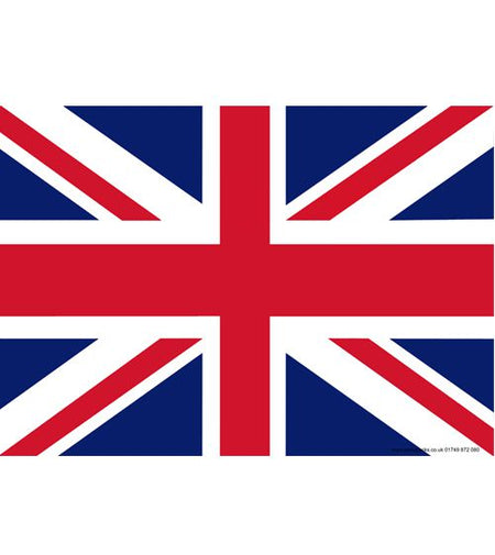Click to view product details and reviews for British Union Jack Themed Flag Poster A3.
