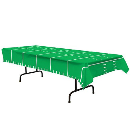American Football Game Day Plastic Tablecloth - 2.74m