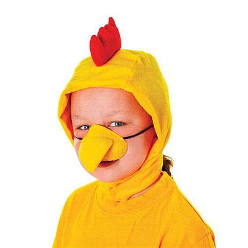Chicken Hood and Nose - Child's