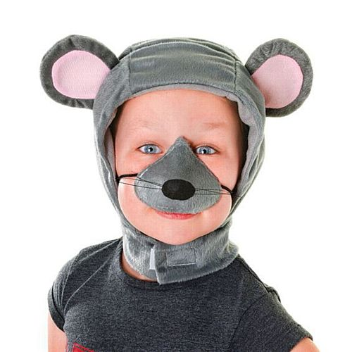 Child's Mouse Hood and Nose