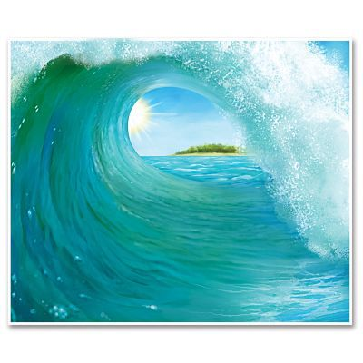 Surf Wave Insta-Mural - 1.52m
