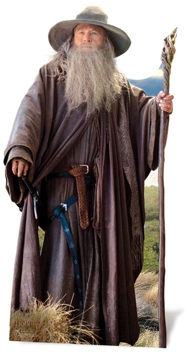 The Hobbit Gandalf Lifesize Cardboard Cutout - 1.91m