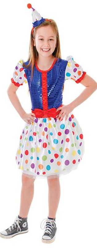 Child's Clown Dress