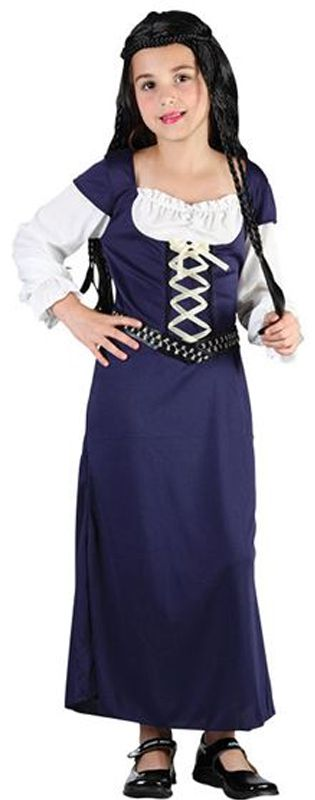 Child Maid Marion Costume