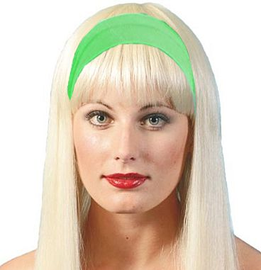 80's Hairband- Green