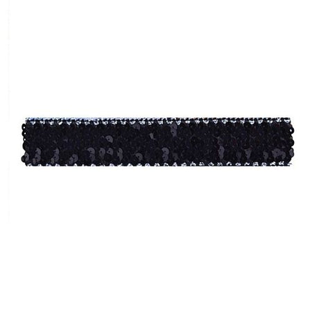 Black Sequin Headband