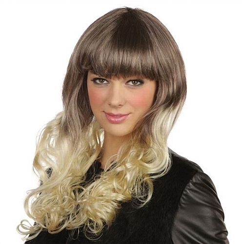 Pop Girl Wig Dip Dye