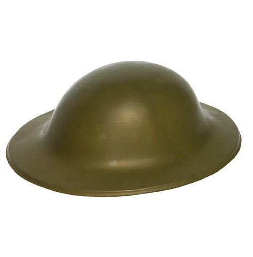 Plastic Army Helmet/Tommy Hat