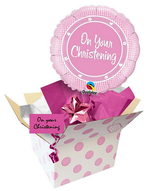 "Send a Balloon 18"" On Your Christening Girl"