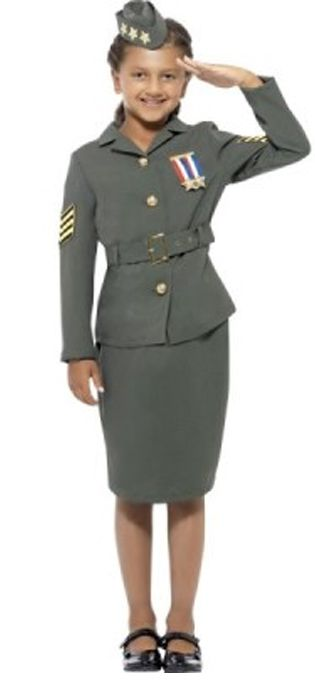 Click to view product details and reviews for Wwii Army Girl Costume.