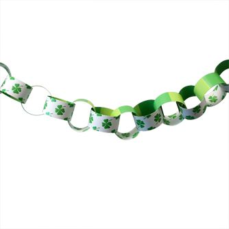 Pot-o-Gold Themed Paper Chain Kit - A3
