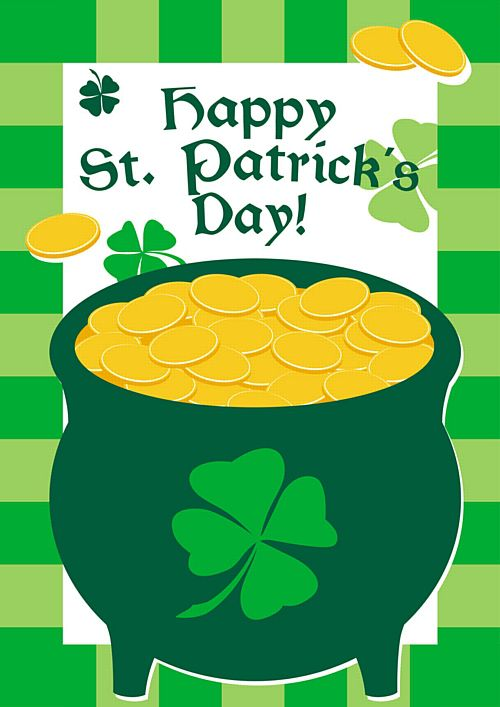 Pot-o-Gold Themed Poster - A3