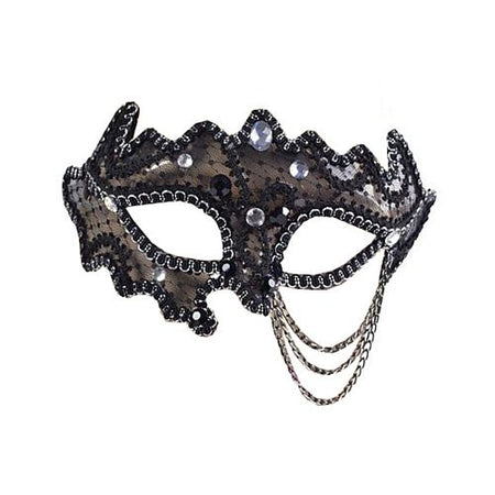 Black Decorative Mask