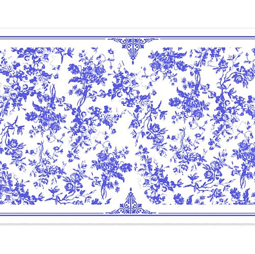 Tea & China Paper Table Runner - 120cm x 30cm
