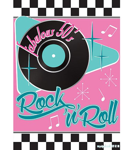 Click to view product details and reviews for 50s Themed Poster A3.