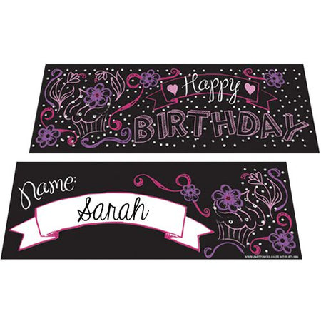 Birthday Girl Placecards - Pack of 8