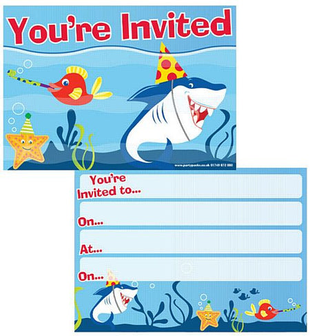 Click to view product details and reviews for Shark Buddies Invites Envelopes Pack Of 8.