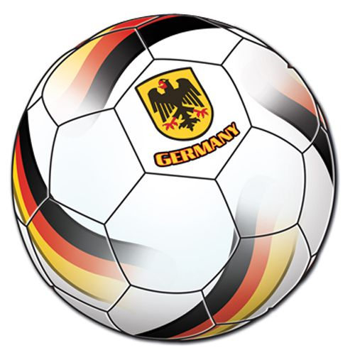 Germany Football Cutout - Printed 2 sides - 35.6cm