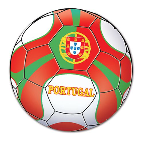 Portugal Football Cutout - Printed 2 sides - 35.6cm