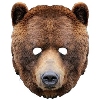 Bear Card Mask