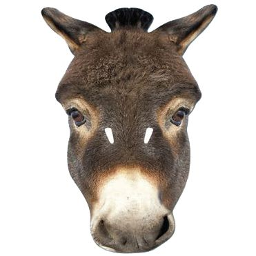 Donkey Card Mask