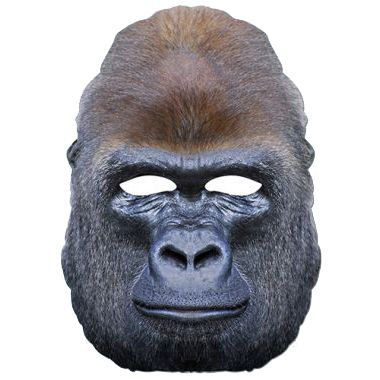 Gorilla Card Mask