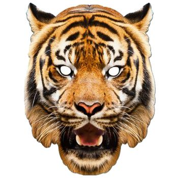 Tiger Card Mask