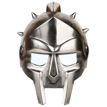 Gladiator Helmet Card Mask