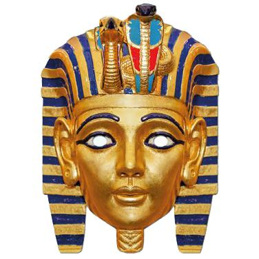 Ancient Egyptian Pharaoh Card Mask