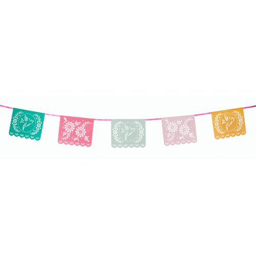 Floral Fiesta Mexicana Bunting - 4m