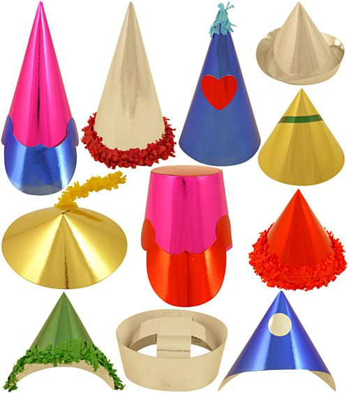 Mini Hats - Assorted Designs - Pack of 72
