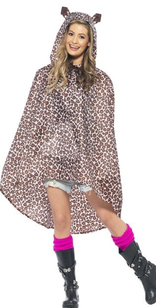 Leopard Party Poncho