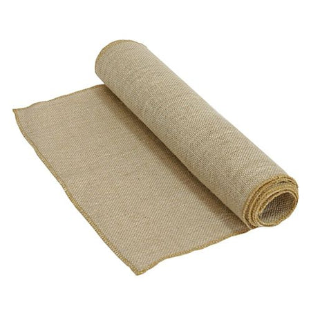 Rustic Hessian Burlap Table Runner - 2m