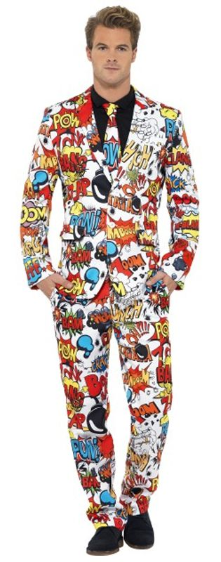 Click to view product details and reviews for Comic Strip Stand Out Suit.