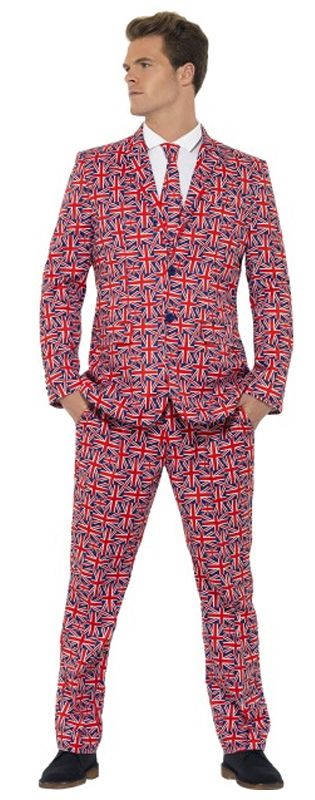 British Union Jack Stand Out Suit
