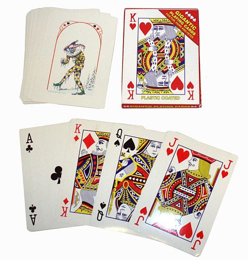 Pack of Giant Playing Cards - 28cm
