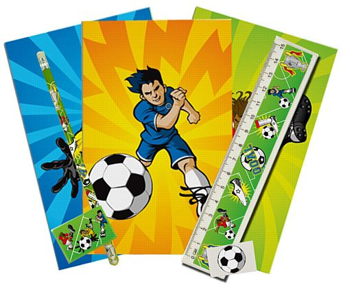 Football Themed Stationary Set - 5 Pieces