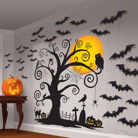 Click to view product details and reviews for Halloween Silhouette Wall Decoration Kit 165m Pack Of 32.