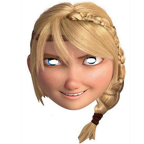 How to Train Your Dragon 2 Astrid Card Mask