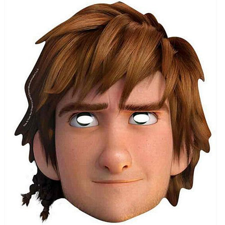 How to Train Your Dragon 2 Hiccup Card Mask