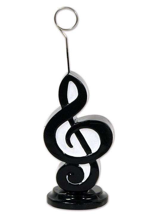 Musical Note Photo/Balloon Holder - 6oz